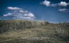 The Pathway, 2014.03.22 (Aaron Glenn Campbell) Tags: sky building architecture clouds rural march spring shadows pennsylvania country sunny lehman rise mound hdr pathway 22nd nepa 2014 hayfieldroad edr luzernecounty backmountain