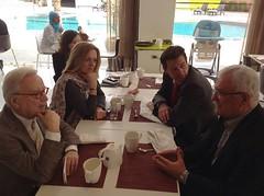 24.03.2014 Πρωινή συνάντηση, στο Αμμάν της Ιορδανίας, με τον George Sabra, ηγέτη της συριακής αντιπολίτευσης στο Αμμάν και με Hannes Swoboda. (marilenakoppa) Tags: sd europeanparliament παλαιστίνη ευρωπαϊκήένωση ιερουσαλήμ ιορδανία ισραήλ hannesswoboda εβραίοι ευρωπαϊκόκοινοβούλιο άραβεσ ραμάλα ευρωβουλευτήσ georgesabra membereuropeanparliament socialistsdemocrats marilenakoppa έλληνεσσοσιαλιστέσ σοσιαλιστικήομάδα σοσιαλιστέσκαιδημοκράτεσ μαριλένακοππά greekmep mariaelenikoppa μαρίαελένηκοππά δημοκρατικήαριστερά–προοδευτικήσυνεργασία λωρίδατησγάζασ αμμάν ισραηλινοί παλαιστίνιοι συριακήαντιπολίτευση