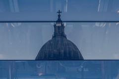 St. Paul's reflection (chrisonthebrink) Tags: uk england reflection london st canon lens eos 50mm 14 pauls m