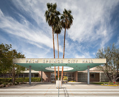 Palm Springs City Hall (Chimay Bleue) Tags: orchids onions frey chambers williams palm springs city hall design architecture modernism modernist midcentury corrugated
