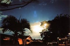 Dancing Lights (Stephen Hilton) Tags: canonetgiiiql17 35mm kodakportra400 longexposure