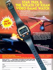 1983 Star Trek II: The Wrath of Khan Video Game Watch (Tom Simpson) Tags: 1983 startrekiithewrathofkhan videogame watch startrek thewrathofkhan 1980s vintage gaming retrogaming ussenterprise