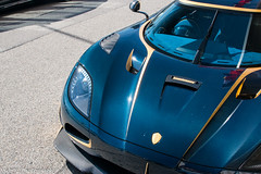 Blue Carbon (Nico K. Photography) Tags: koenigsegg agera rs naraya blue carbon hypercar 1of1 golden nicokphotography switzerland geneva