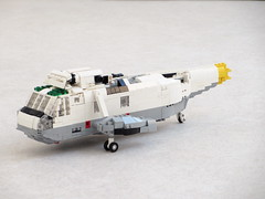 Sea King WIP 13th of February (Mad physicist) Tags: lego helicopter sea king sikorsky wip workinprogress
