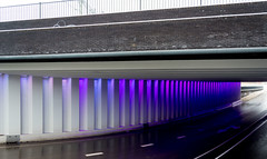 _DSC2675 (durr-architect) Tags: tunnel vision herman kuijer light installation dutch underpass zutphen netherlands architecture art designer artist colourful luminescent motorists cyclists pedestrians time space kcap baljon baauw royal haskoning dhv bam prorail train railway