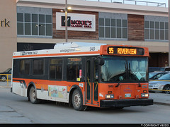 Winnipeg Transit #949 (vb5215's Transportation Gallery) Tags: winnipeg transit 2001 new flyer d30lf