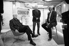 Michael Caine, Alan Arkin and Morgan Freeman. (Nathan Congleton) Tags: morganfreeman michaelcaine alanarkin goinginstyle actor celebrity oscarwinner movie broadway showbusiness