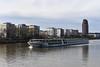 2017 Hotelschiff in Frankfurt auf dem Main (mercatormovens) Tags: frankfurt main city hotelschiff schiff fluss deutschherrnufer nikon d750
