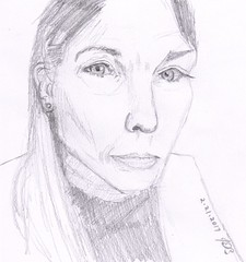 Jane Ruchman for JKPP (jimblodget) Tags: jkpp juliakaysportraitparty portrait faces pencil people