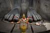 Bahubali (Karthikeyan.chinna) Tags: chinnathamby canon canon5d canon5dmarkiii karthikeyan travel india karnataka belur statue sculpture bahubali tradition culture