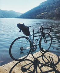 near Brná (Hagbard_) Tags: cz czech rennrad tour rumble labe elbe river racebike sport outsideisfree