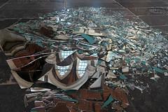 Meteorites (YIP2) Tags: artwork meteorites marinusboezem oudekerk oldchurch amsterdam museum exhibition glass installation