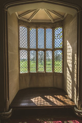 I wonder how many times this window has been photographed. (Ian Emerson) Tags: window lattice historic history lacock abbey 1835 talbot photography photographic indoor canon birthplace omot