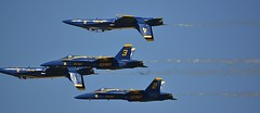 Close Quarters (swong95765) Tags: blueangels jets navy flying precision inverted formation
