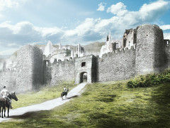 Ciudad Fortaleza de Fornost (Jmproaud) Tags: fornost arnor lotr thelordoftherings middleearth mattepainting paisaje digitalpainting painting fantasy fantasyart fantasylandscape photography photoart