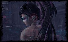 I Don't Sleep Good, I Think Too Much (Xan Baran) Tags: emotions lelutka cyber techno secondlife glamaffair