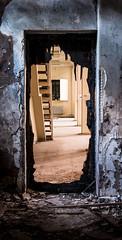 Portal to another world (think4d) Tags: debris door eisenach fürstenhof portal stairs wall