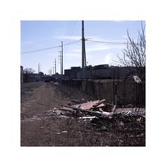 (STREETIZM) Tags: fuji provia 100f e6 film hasselblad 501c epson v800 everett massachusetts railroad industrial waste 150mm sonar t