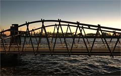 1033-PUENTE BAJO LA LUNA - HAMBURGO (--MARCO POLO--) Tags: ocasos ciudades rincones puentes puertos atardeceres