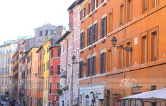 Rome Italy street (itsabreeze) Tags: rome italy street urban colourfulbuildings europe