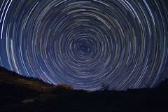 Stars over NM 4-14-17 (CaptDanger) Tags: can canon canonsl1 8mmfisheye iso 800 f28 30secondexposure longexposure longexposureatnight stars startrails starcircle beautifulstars night nightsky nighttime nightshots nightskyfullofstars nightphotography newmexico newmexicoskies newmexicolandscapes nativeruins abandoned ruin historical americansouthwest southwesternus southwest southwestunitedstates nmtrue nmskies adventure lookingnorth northstar amazinglandscape beautifulskies nature noclouds