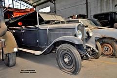 fiat 514 (riccardo nassisi) Tags: collezione righini rust rusty scrapyard collection camion truck ruggine epave alfa romeo 950 900 fiat old car auto