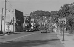 Central City, PA (Mojave511) Tags: pennsylvania 1997 090597 september centralcity monochrome