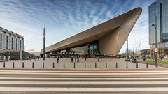 Rotterdam Central station (Nicky Boogaard) Tags: rotterdam central holland ic direct traxx bombardier alstom architecture trains railroad railway ns nmbs
