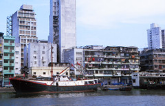 Macau harbour (Niall Corbet) Tags: china macau harbour port boat