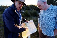 20170228-08-Discussing route (Roger T Wong) Tags: australia greatpinetier np nationalpark sel1635z sony1635 sonya7ii sonyalpha7ii sonyfe1635mmf4zaosscarlzeissvariotessart sonyilce7m2 tasmania wha wallsofjerusalem worldheritagearea bushwalk camp hike hikers map trektramp walk