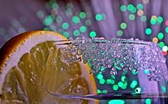 Cheers! - Happy Birthday Macro Mondays! (Explored!) (Zsofia Nagy) Tags: happy10years macromondays celebration birthday bokeh drink lemon sugar