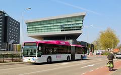 Breng 9275 - Nijmegen-Heyendaal (rvdbreevaart) Tags: breng hermes nijmegen heyendaal heyendaalshuttle mercedes mercedesbenz citaro gelede bus openbaarvervoer publictransport öpnv nikon d3300 raw cng gnc