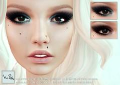 WarPaint* @Appliqué - Valkyrie eyeshadow (~✰ Mafy ✰~) Tags: warpaint war paint appliqué aplique applier catwa makeup eyeshadow bento smokey