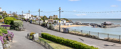 View looking back onto Broadstairs front (philbarnes4) Tags: front broadstairs thanet kent england path view pier sea sky