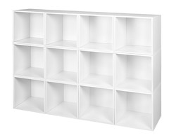 PC12PKWH (RegencyOfficeFurniture) Tags: niche regency cubo cubestorage modularstorage modular connecting connectable adaptable custom customizable cube square storageset closet organizer organization furniture cubes expandable home melamine laminate white whitewoodgrain pc12pk pc1211wh