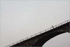 maybe, barmanghat (nevil zaveri ( away : )) Tags: zaveri holy barmanghat people man men flight flying birds bridge ghat narmada river mp india religion madhyapradesh religious photography photographer images photos blog stockimages photograph photographs water nevil nevilzaveri stock photo saptadhara minimal minimalism minimalist lonely aerial view