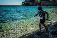 The last beach (Melissa Maples) Tags: alanya turkey türkiye asia 土耳其 nikon d3300 ニコン 尼康 nikkor afs 18200mm f3556g 18200mmf3556g vr spring alanyaultramarathon race roman ancient ruins hill alanyacastle castle mediterranean sea water beach athlete runner man