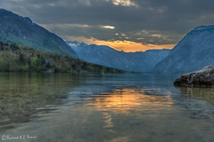 Lake Bohinj (Roland Rosier) Tags: bohinj bohinjskojezero d800 hdr julianalps lake lakebohinj nikon nikond800 slovenia slovenija triglav triglavnationalpark si