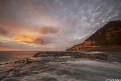 and sent them all away (mark silva) Tags: seacliffbridge coalcliff wollongong sydney nsw australia sunrise cloud clouds canon