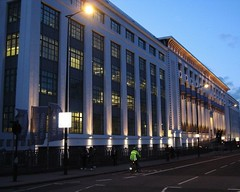 """Carreras Cigarette Factory, London (Snapperchap (Don Blandford)) Tags: """"arcadia works"""" """"greater london house"""" """"the black cat factory"""" artdeco artdecobuilding londonarchitecture carrerascigarettefactorylondon carrerascigarettefactory camdenarchitecture"""