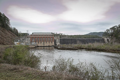 Yonah Dam - Stephens Co. Ga. & Oconee Co. S.C. (DT's Photo Site - Anderson S.C.) Tags: canon 6d 24105mml lens yonah dam oconee stephens county georgia southcarolina tugaloo river upstate hydro electric power generating rural southern landscape water stream country