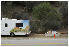 Pasadena_0132.1 (Thomas Willard) Tags: pasadena arroyoseco california bowl camper graphic mural depiction rose oak tree