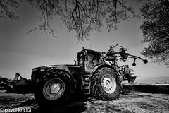 PPF_0741-Edit-13 (pavelkricka) Tags: holbrook fields village oilseed rape tractor farming blackandwhite bw monocrome