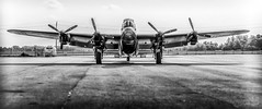Raring To Go (ryce.davd) Tags: hamilton air force rcaf lancaster props wings heritage ww2 aircraft propeller gunner