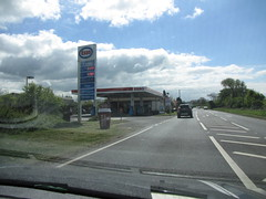 Esso - Eastertown A370 Somerset (christopherbarker13) Tags: esso exxon petrolstation garage eastertown somerset a370