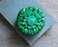 DSC_9683 (coloursandsoul) Tags: intage green glass malachite trinket box