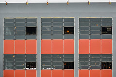 alignment (Brinkervelt.) Tags: orange building construction structure architecture new alignment pattern cmwd cmwdorange windows rectangles