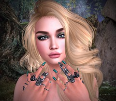 Beauty Of The Beast (lauragenia.viper) Tags: bento catwa chloe cosmopolitan euphoric glamaffair kate lelutka lumipro magika maitreya marukin musa secondlife secondlifefashion themakeoverroom vistaanimations zoz blond blonde avatar virtual mesh ring rings eyeshadow nailpolish nightwish goth gothic