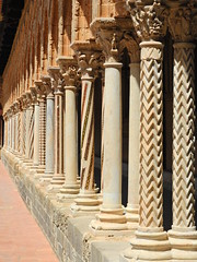 Columnularism (Couldn't Call It Unexpected) Tags: columns monreale sicily palermo