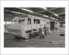 Vehicle Collection (7804) - Continental (Steve Given) Tags: workingvehicle automobile bus 1970s continental construction productionline